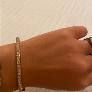 Givenchy rose gold bangle